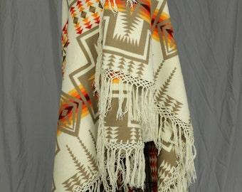 Vintage Pendleton Chief Joseph Shawl / Blanket
