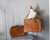 Reserved for ANDRE vintage INDIANA JONES leather travel luggage