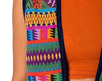 The Vintage Guatemalan Aztec Poncho Vest