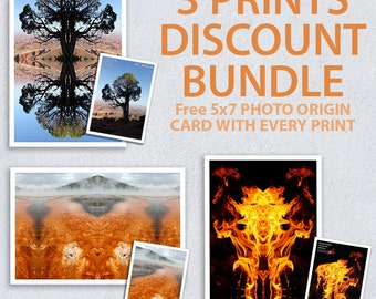 Choose any 3 Prints as a Bundle
