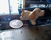 vintage dog figurine spaniel miniature
