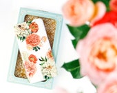 Gift for Her, Womens Gift, Valentine's Day Gifts, Gifts for Mom, College Student Gift, Girlfriend, Sister - Floral Phone Case Peonies