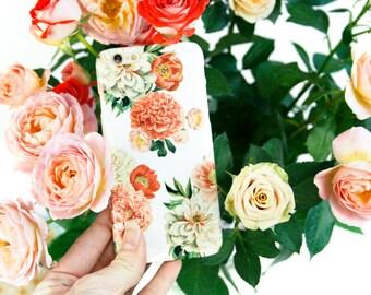 Peonies iPhone 6S Case Peony Bunch iPhone 5S Case, Floral iPhone 6 Case, Peonies iPhone 6S Plus Case,  Case