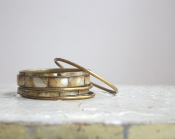 mother of pearl  bracelets
