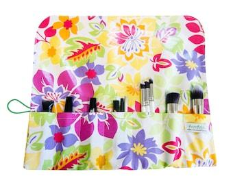 Makeup Organizer Bridesmaid Make Up Bag  Brush Roll Make Up Brush Set Makeup Storage Cosmetic Storage Makeup Travel Bag Makeup Brush Holder