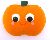 Pumpkin Decoration - Cute Halloween Decor - Jack O Lantern Decor - Pumpkin Decoration - Halloween Ornament