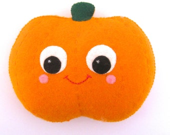 Pumpkin Decoration - Cute Halloween Decor - Jack O Lantern Decor - Pumpkin Decoration - Halloween Ornament
