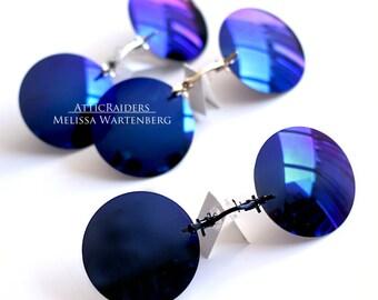Dark Polarized Sunglasses Round Eye Glasses