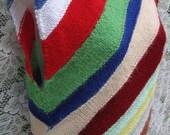 THAT 70s SHOW angular chevron striped sweater, knit tank vest style