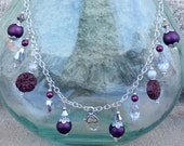 Treasure Keeper Necklace - Aggie Silver