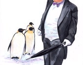 Penguin 66 Print