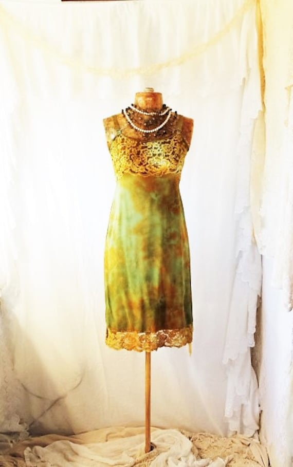 Tie Dye Sundress/Oregon Dress/Funky Eugene/Tie Dye Dress/Green Earth Dress/Earth Day Sundress/Tie Dye Sundress/Music Festival Clothing