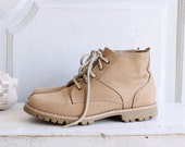 vintage 80s suede chukka boots booties sz 6 made in Brazil