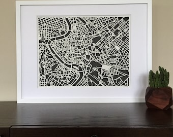 rome FRAMED and ready to ship SALE