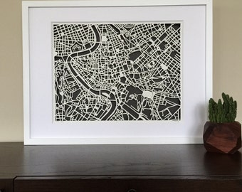 rome FRAMED and ready to ship, SALE