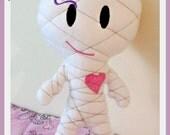 Mummy doll plushie