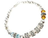 Shop our best selection of custom Nana Bracelets, Mother, Grandma. Beautiful jewelry gifts with your customizable options