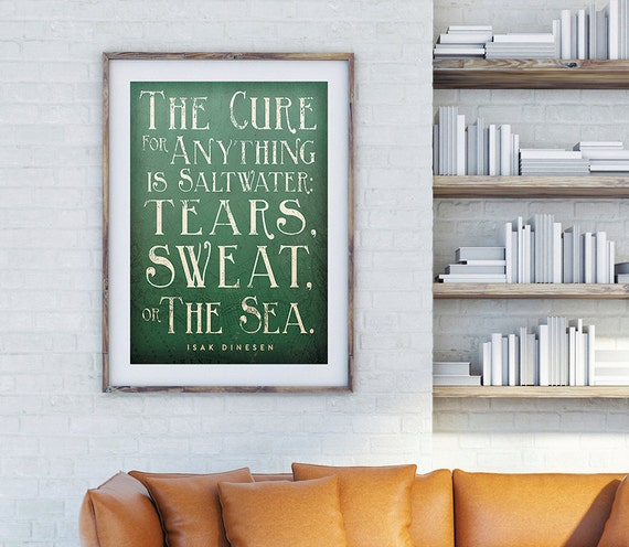 CUSTOM Quotable Print - Archival Pigment Print -   Frame NOT included