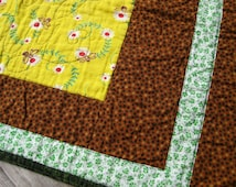 SALE Small Dog or Cat Quilt - Lazy Day Dog Quilt or Cat Quilt Feeding Mat Kitten Puppy Dog Pet Gift for Dog Lover