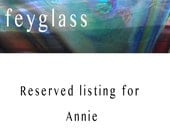 RESERVED for Annie  - Lampwork beads