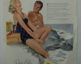1956 Pepsi ad from the Ladies Home Journal