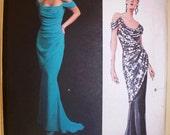 vogue designer original pattern 2801 ~ bellville sassoon dress ~ (2003) ~ UNCUT