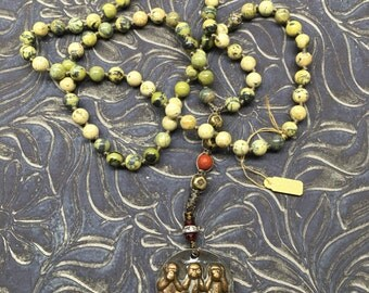 Monkey Business Knotted Necklace