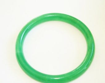 Jade Green Bangle Bracelet