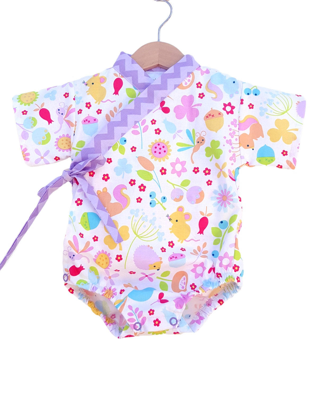 Baby Kimono Bodysuit Little Critters baby toddler