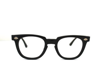50s Eyeglasses TITMUS Black/wayfarer style