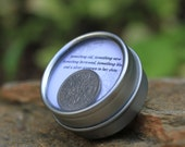 Classic Sixpence Wedding Coin in Keepsake Container