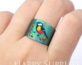 Buy 1 Get 1 Free - New Technology - 2pcs (PR155) Handmade Photo Brass Ring