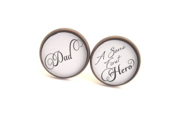 Cufflinks, Gift for Dad, Gift for Husband