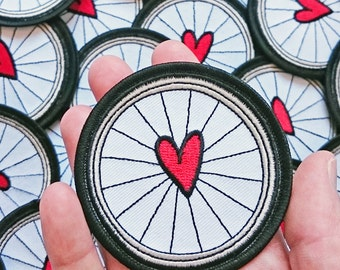 Iron On Cycling Patch