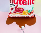 50 % SALE - Cushion Cover - Nutella