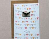 Celebration Party Banners - Tiny Envelopes Card