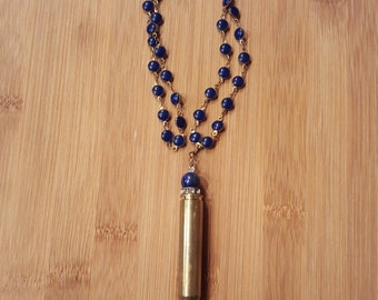 Bullet Shell Necklace