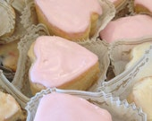 Traditional Pink French Vanilla Scone