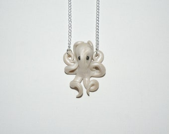 pearl octopus necklace