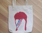 David Bowie // Ch Ch Ch Changes tote bag