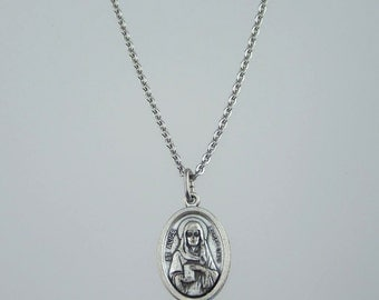 Saint Alice Medal Necklace
