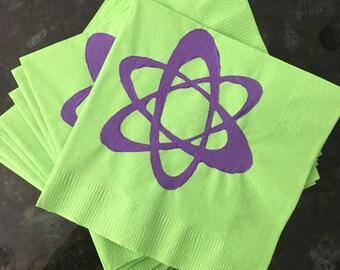 Science Symbol Paper Cocktail/ Lunch/ Dinner Napkins