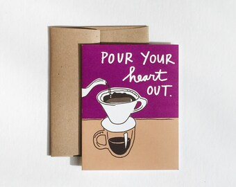 Pour Over Coffee Card