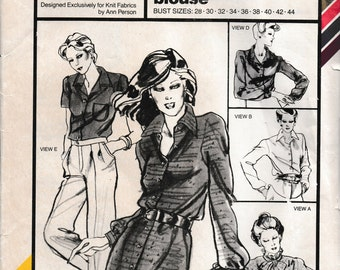 Stretch and Sew Stretch & Sew No. 1570 Shirtwaist Dress and Blouse