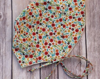 Sale! Ready to Ship Wildflowers Sun Bonnet, Size 12-18 Months