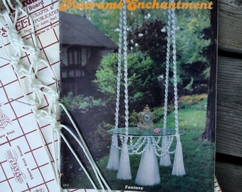 Retro Macrame Home Decor Pattern Book - Macrame Enchantment Book 2
