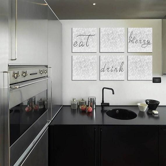 Glasbild kuche