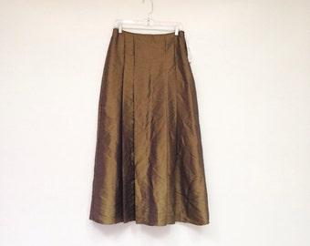 Vintage 1970s Deadstock Color Change High Waisted Princess Skirt
