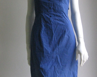 SALE 70s handmade cotton dress xs
