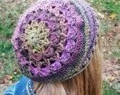 Jemma Slouchy Crochet Hat Pattern